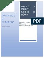 Portafolio Segundo Parcial Francisco Javier Cazarez Plancarte