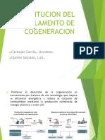 Sustitucion Del Reglamento de Cogeneracion