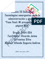 AllendeSegovia Andrea M23 S4 Presentacionfinal