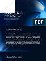 ALGORITMIA HEURÍSTICA