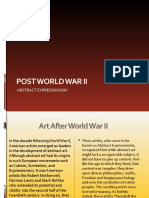 Post World War II Art(Rose's report)
