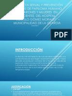 Conducta Sexual y Prevención Del Virus de Papiloma