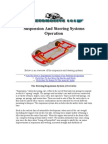 Suspension and Steering Systems Operation