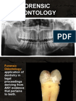 Forensic Odontology New