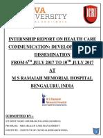 Certificate of Report