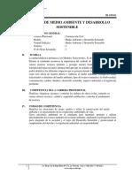 2. Sílabo de Medio Ambiente y Desarrollo Sostenible