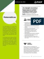 perfil laboral de un matematico
