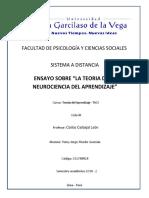 "ENSAYO SOBRE ""LA TEORIA DE LA NEUROCIENCIA DEL APRENDIZAJE"".docx"