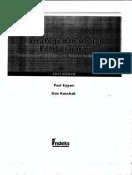 Strategi Dan Model Pembelajaran Edisi Keenam (Pauleggen, Don Kauchak )