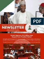 Office of the Senate President Newsletter. Week of Monday, November 13th to Friday, November 17th