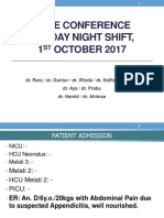 Case Conference 011017 (Appendicitis)