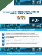 Presentación Gestión Integral de Residuos