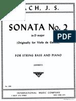 Bach - Sonata n. 2
