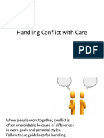 Handling Conflict With Care