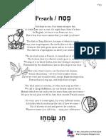 Pesach Poem 5771