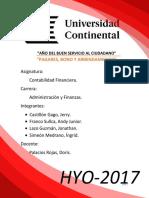 Trabajo de Contabilidad (BONOS ,PAGARE Y ARRENDAMIENTO)