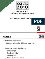 Antenna and Antenna Array Simulation
