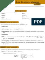 OutilsPhysiques Correction