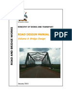 1-Bridge Design Manual 2010-MoWT, Uganda