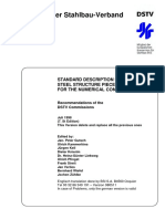 Standard Description for Steel Structure Pieces for the Numerical Controls (07.06.2002)