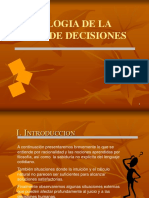 4 Psicologia de La Toma de Decisiones