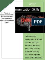 communication process project
