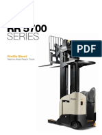 Reach Truck Rr5700 Profile Sheet