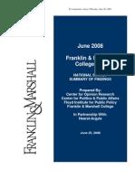 Franklin & Marshall Poll