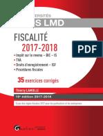 Lextenso étudiant - Droit pénal fiscal (Corrigé détaillé)