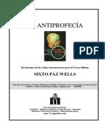Paz Wells, Sixto - La Antiprofecia (2001) 7mo libro.pdf