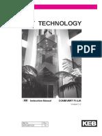 Keb F5 inverter Manual