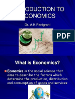 Introduction to Economics -1