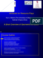 2. a Short Overview of Geometric Attributes
