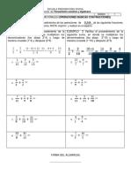 Ejercicios de Pensamiento Numerico y Algebraico