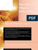 The Birth of Filipino Nationalism