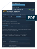 CS_GO - Comandos Para Consola [Portuguese]