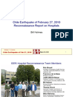 2010 - Chile Earthquake of February 27, 2010 Reconnaissance Report on Hospitals (Oral Presentaion)