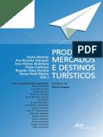 Produtos Mercados e Destinos Turisticos LIVRO FINAL