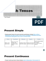 Teens Slide English Tenses Part 1