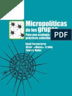 Micropolíticas de los Grupos. Para una ecología de las prácticas colectivas