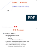 Lect.4b--Recursion Csphtp1 06--NEWEST LL UPD--Methods Csphtp1 06