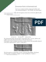 Identifying Zoroastrian Gods on Achaemenid Seals
