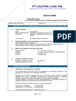 MMSDS Sand Silica