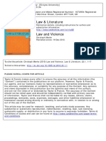 Law and Violence (Menke)