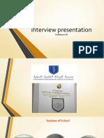 presentation1 interviwe