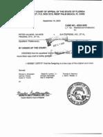 4th DCA Order to Strike