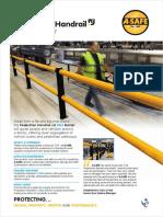 Pedestrian Handrail +2 iFlex Barrier product sheet