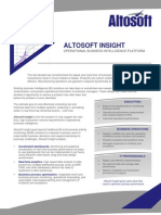 Altosoft Insight Datasheet