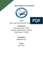 Comparación de La Ordenanza 03-2013