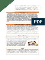 Guía de Aprendizaje 8 a 9 Años